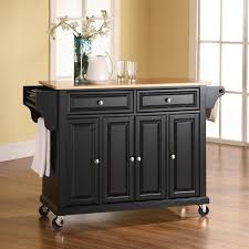 beautiful black kitchen island on wheels kitchenzo com