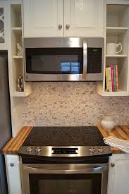 acorn kitchen cabinets slide in stove range kenmore microwave stainless steal