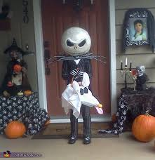 Jack Jack Halloween Costume Jack Skellington Jack Pumpkin King Costume Jack