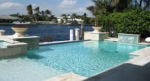 modern big swimming pool build in backyard home garden pools
