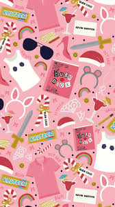 pink halloween background free mean girls inspired pattern free iphone wallpaper three cheers