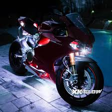 white led motorcycle light kit 84 led two color ultra bright motorcycle neon kit xkglow com