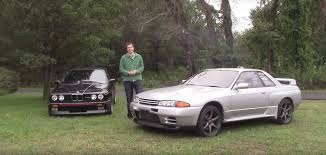 nissan gtr vs skyline the bmw e30 m3 and the nissan skyline gt r are more alike than you