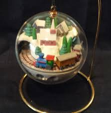 hallmark village express train keepsake light u0026 motion christmas