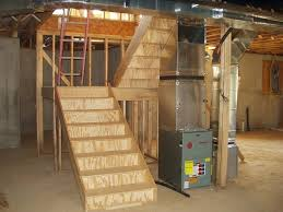 pictures of l shaped basement stairs build stairs to basement