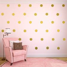 nursery gold polka dot wall decals home design stylinghome image of gold polka dot wall decals ideas