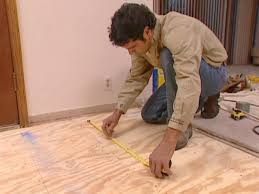 Laminate Floor Wedges How To Install Wide Plank Flooring In A Kitchen How Tos Diy