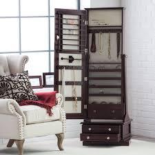 Living Room Armoire Belham Living Swivel Cheval Mirror Jewelry Armoire Hayneedle