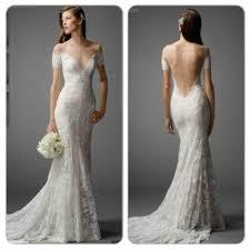 turmec off shoulder short lace wedding dress