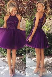 purple dresses for weddings knee length wawy 2017 dresses purple dresses halter neck