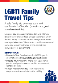Lgbti travel information