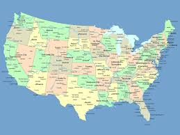 State Abbreviations Map by List Of Us States With State Abbreviations