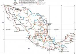 Mexico Road Map by Download Map Of Mexico Highways Major Tourist Attractions Maps