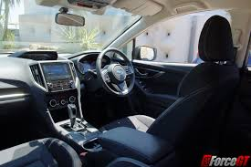 subaru impreza interior 2017 2017 subaru impreza review 2 0i l hatch forcegt com