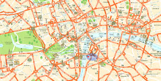 New Orleans Tourist Map by London Map Tourist Attractions Map Travel Holiday Vacations