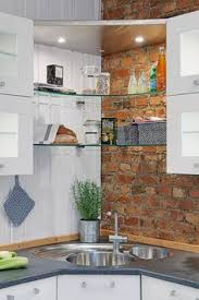 Corner Sink Kitchen by Corner Sink Small Kitchen Design Pictures Remodel Decor And