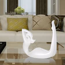 best and cheap white tomfeel dance bend back resin sculpture