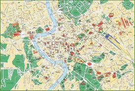 City Map Of Torino Turin by Rome City Map