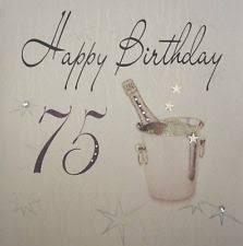 happy 75th birthday ebay