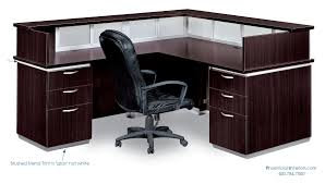 L Shaped Reception Desk Reception Desks L Shaped Reception Desk With Countertops