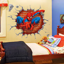 spiderman 3d wall decal 17 9 x 19 7 at the top shop spiderman 3d wall decal 17 9 x 19 7