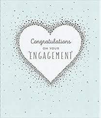 engagement greeting card wedding engagement congratulations greeting card