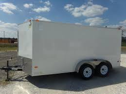 enclosed trailer exterior lights 2018 covered wagon trailers 7x14ta free 1 peice roof led lights and