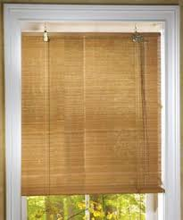Blinds For Basement Windows by Bamboo Red Roll Up Window Blinds 60 In X 72 In China By