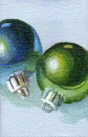 ornament mini canvas painting by shirleyart