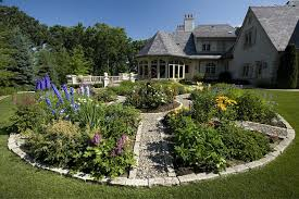 expansive formal garden decorating ideas landscape traditional