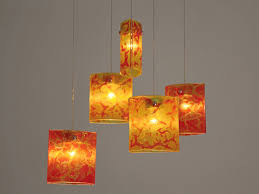 hanging ceiling lights for dining room fused glass pendant lights chandelier lighting hanging