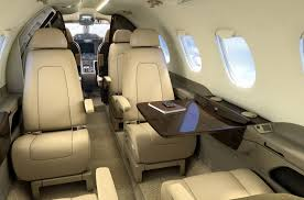 Private Jet Interiors Interior Of The Phenom 300 A Private Jet For Charter With