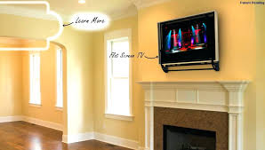 mounting tv over gas fireplace um image for over gas fireplace