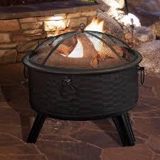 Burning Pit Of Fire - pure garden steel wood burning fire pit u0026 reviews wayfair