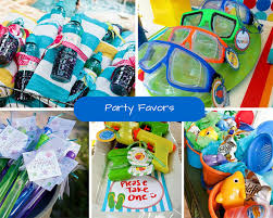 Birthday Favors by Pool Ideas Summer Ideas At Birthday In A Box