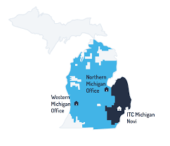 Where Is Michigan On The Map by Itc Michigan