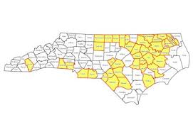 Nc Counties Map What The Feds U0027 Voting Rights Lawsuit Could Mean For North Carolina