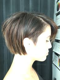 undercut bob balayaged short hair hair by amai hair studio
