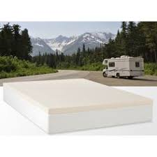 cameo 2 inch 2 5 lb memory foam rv mattress topper rv mattress