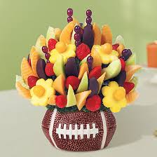 edible arrangementss edible arrangement scores a touchdown with special football themed