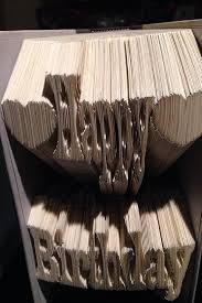 happy birthday book happy birthday 2 line book folding pattern 699pgs gift for