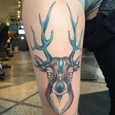 25 beautiful elk tattoo ideas on pinterest deer head tattoo