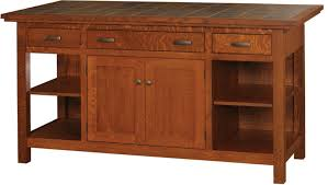 mission style kitchen island wood n choices