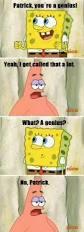 funny spongebob and patrick dump a day