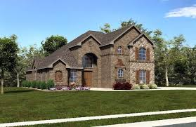 european house plan with 5 bedrooms and 4 5 baths plan 4484