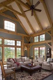 Timber Frame Home Interiors 618 Best Timber Frame Images On Pinterest Timber Frames