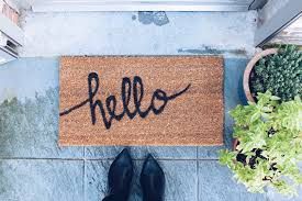 diy painted doormat zolea bloglovin u0027