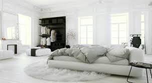 White And Dark Grey Bedroom Black And White Room Decor Diy White Blinds White Covered Bedding