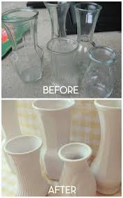 Cheap Glass Vase Home Made Modern Faux Milk Glass Fabulous Idea For All Those