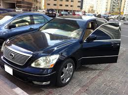 lexus ls 430 commercial ls series in dubai lexus ls430 dark blue color beige interior